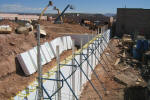 Insulated Concrete Forms - Metal Bracing