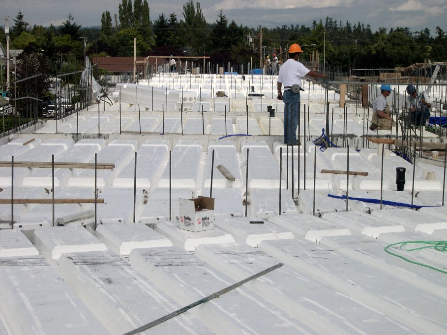 Insulated concrete forms for walls for Icf concrete floors