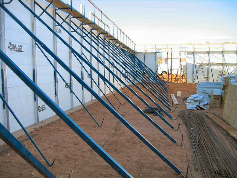 Insulated Concrete Forms - Commercial Construction Photos