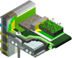 Green Roof Details with Quad-Deck ICF