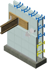 ICF Ledger Attachement with Simpson ICF Ledger Connector System