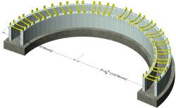 Tight Radius ICF Wall