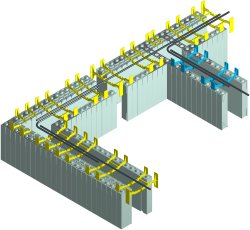 Horizontal Rebar Placement in ICFs