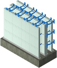 ICF Double Wall - Common Wall