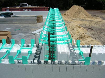 R-38 Wall Insulation with Insulated Concrete Forms