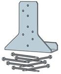 ICF Ledger Hanger - fastened to Bracket with Ledgerboard inbetween