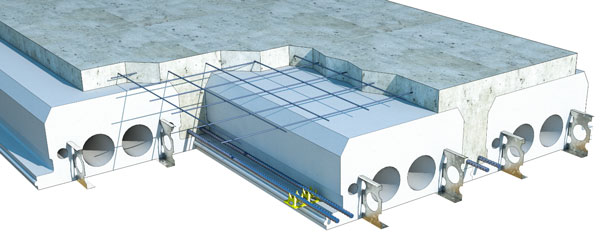 Insulated concrete forms amazing buildings with quad for Icf concrete floors