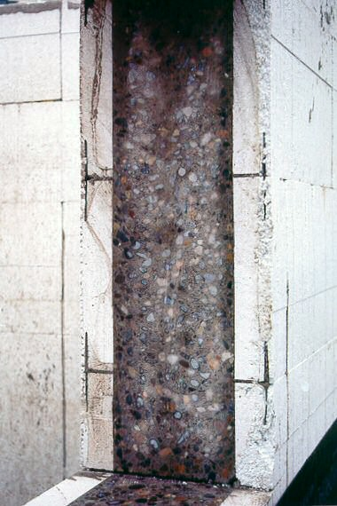 Insulated concrete forms photos icf photos for Icf concrete floors