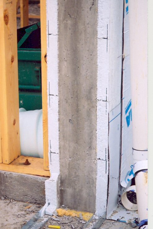 Insulated concrete forms icf photo gallery for Styrofoam concrete walls