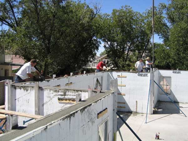 Insulated Concrete Forms = Amazing Buildings with Quad-Lock ICFs