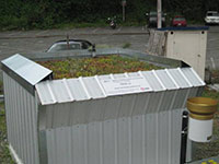 Green Roof Research - ICF Structure completed