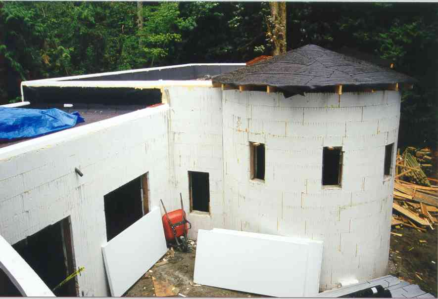 Photos Of Residential Icf Construction Using Quad Lock