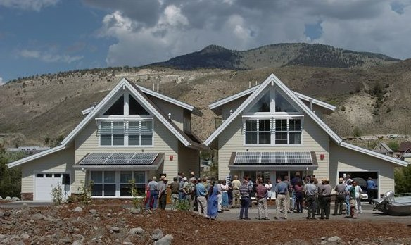 Icf project profile leed homes in yellowstone park for Icf house