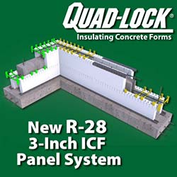 R-28 Insulated Concrete Forms